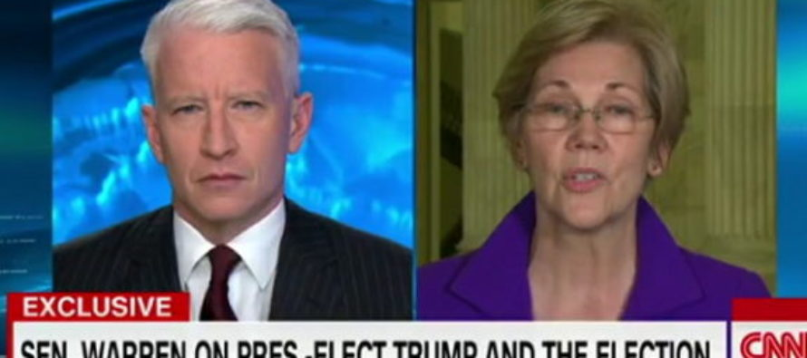 Anderson Cooper Shocks Elizabeth Warren When He Says This About Her Claims of Racism by Trump Admin [VIDEO]