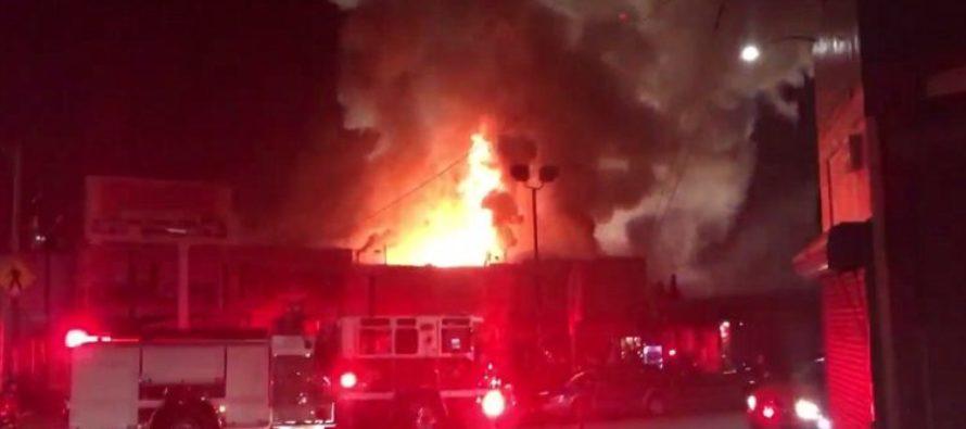 """Survivor Felt Skin """"Peeling"""" As 40 People Perish In Oakland Warehouse Rave FIRE… [VIDEO]"""