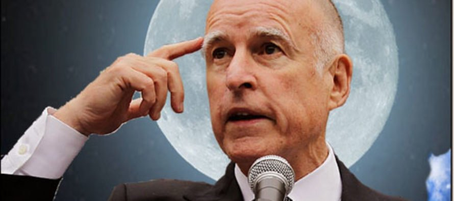 Governor Moonbeam: California Will Launch Its Own Space Program to Generate Global Warming Propaganda