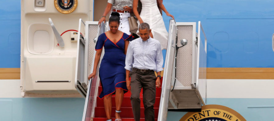 MICHELLE tells OPRAH America is hopeless! …before jetting off to THIS paradise.