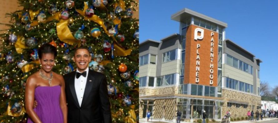 Obama Gives SICK Christmas Gift To Planned Parenthood With His Latest Executive Order