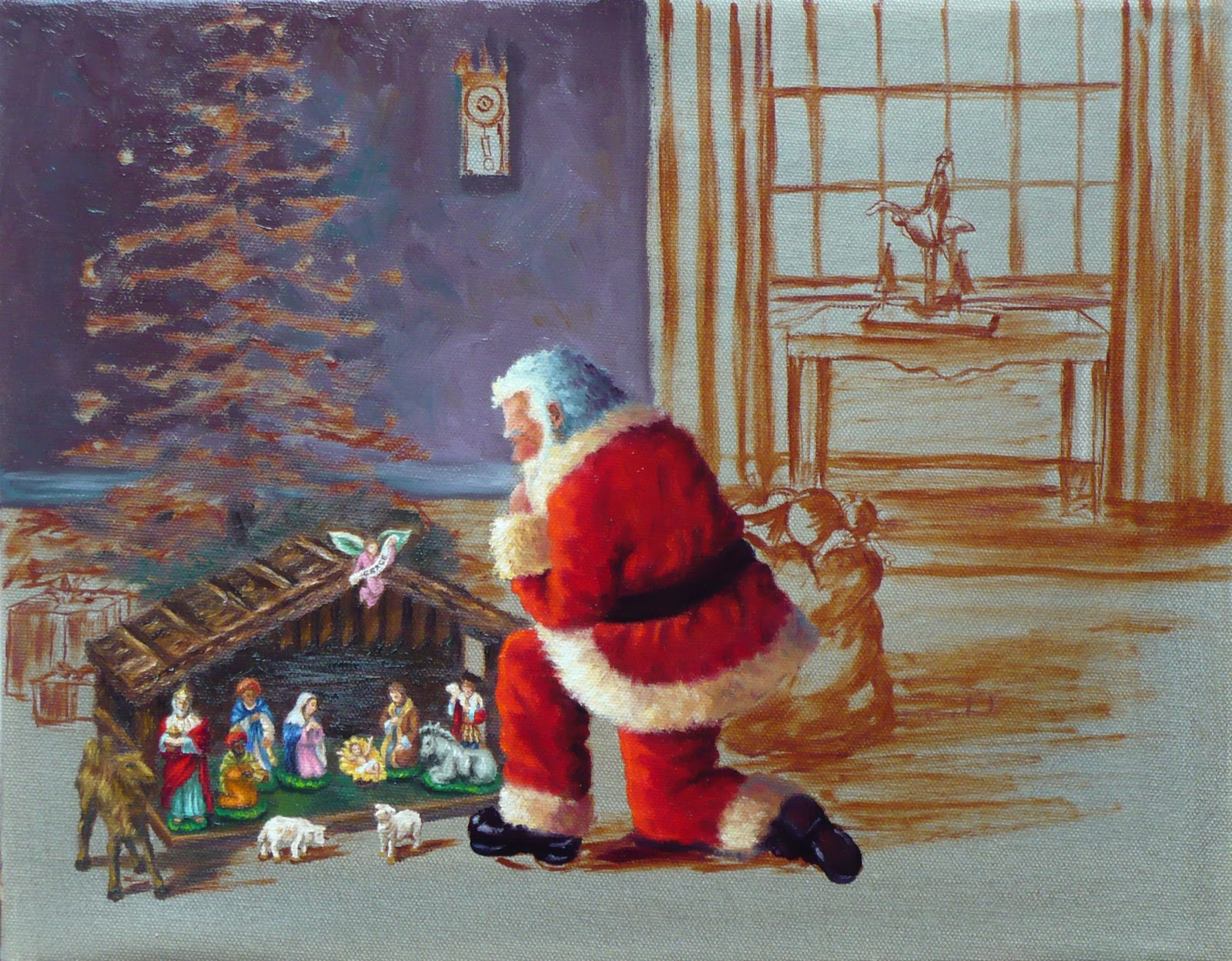 Santa Nativity