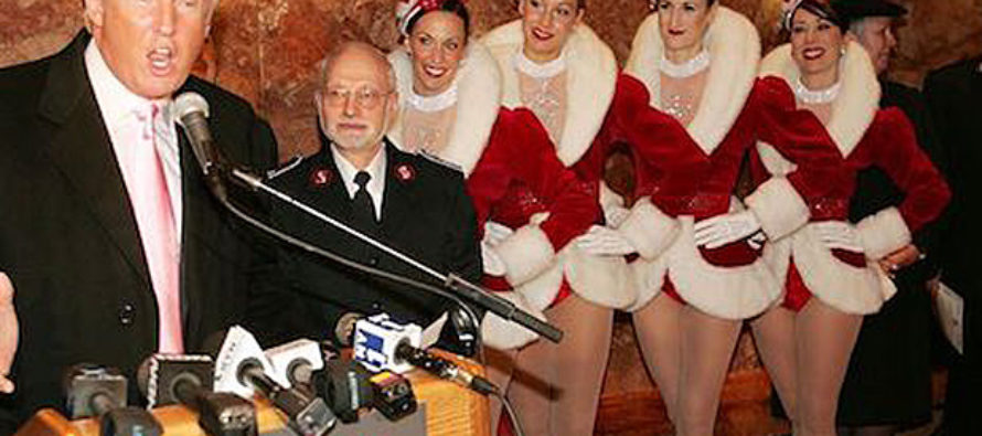 "Rockette booked to entertain at Trump Inauguration whines ""Not My President!"""