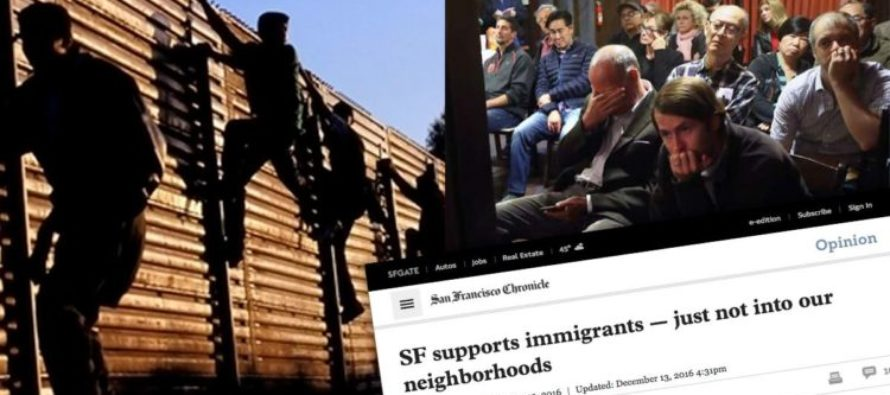 OH, THE HYPOCRISY! San Franciscans Support Illegal Immigration. Just Not In THEIR Neighborhoods…