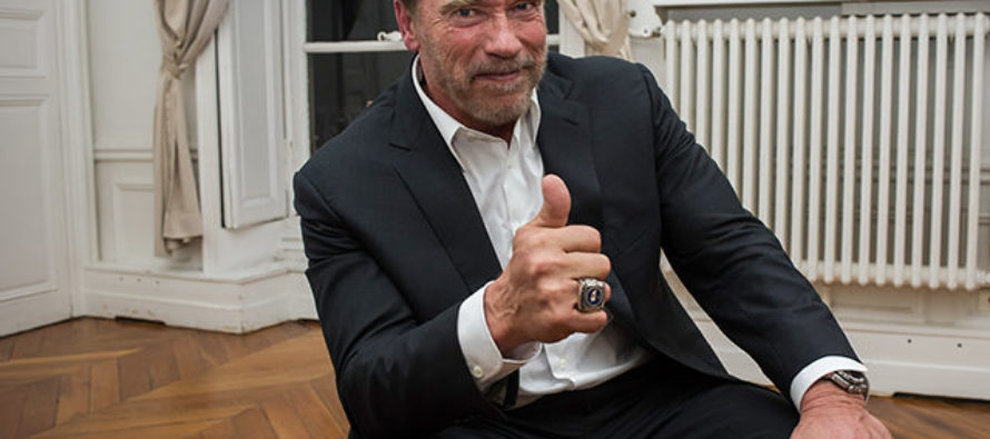 Schwarzenegger Says Enough Is Enough: 'Come Together, Stop Whining And Support Donald Trump' [VIDEO]