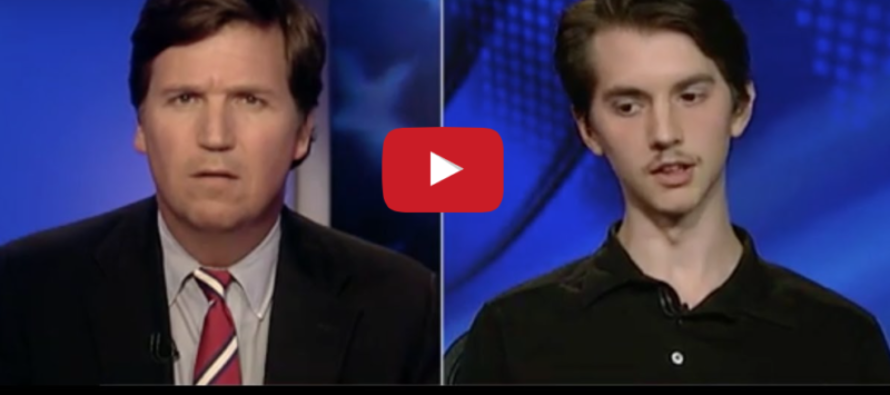 Tucker Carlson UTTERLY DESTROYS Smug College Student on Trump & Environment [VIDEO]