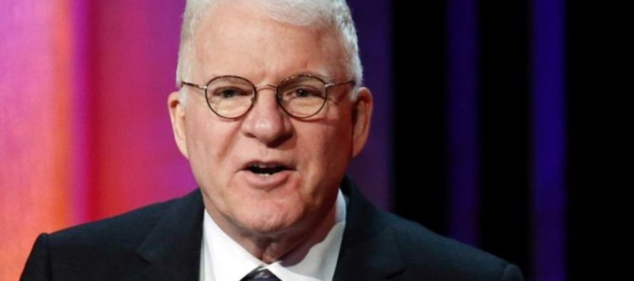 Steve Martin Under Fire, Called SEXIST for Complimentary Tweet About Carrie Fisher