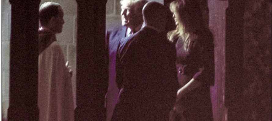 Outrage at Melania Trump's Outfit for Midnight Mass – Here's Why… [PHOTOS] [VIDEO]