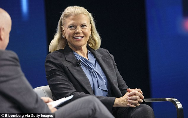Virginia 'Ginni' Rometty, chief executive officer of International Business Machines Corp, said IBM will invest $1billion on employee training and development in the next four years.