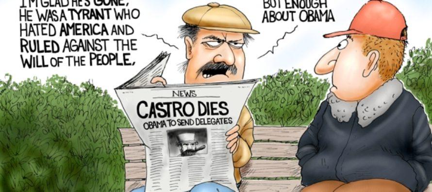 Adios El Presidente (Cartoon)