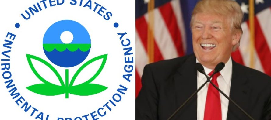 BREAKING: Trump Just Named EPA Chief – Liberals Are Going To FREAK OUT!