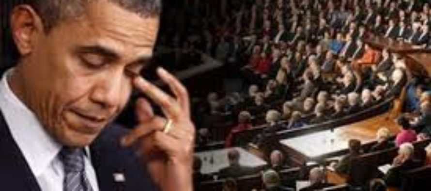 Congress Has Parting Gift For Obama – UNANIMOUSLY Rules Against Him!
