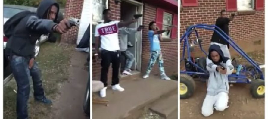 Oops! Thugs Used GUNS In Terrifying Mannequin Challenge – Police RESPOND! VIDEO