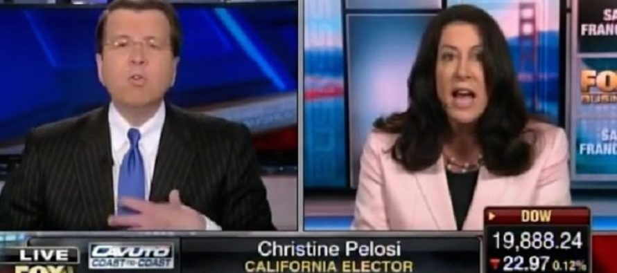 DANG! Christine Pelosi Goes Berserk On Neil Cavuto, Says He's Making Her Unsafe-VIDEO