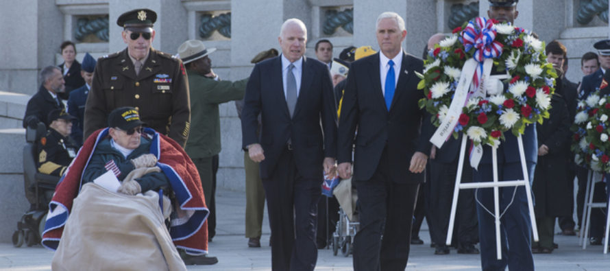 Man Accidentally Runs Into PENCE At WWII Memorial – Learns Why Pence Is Keeping His Visit A SECRET!