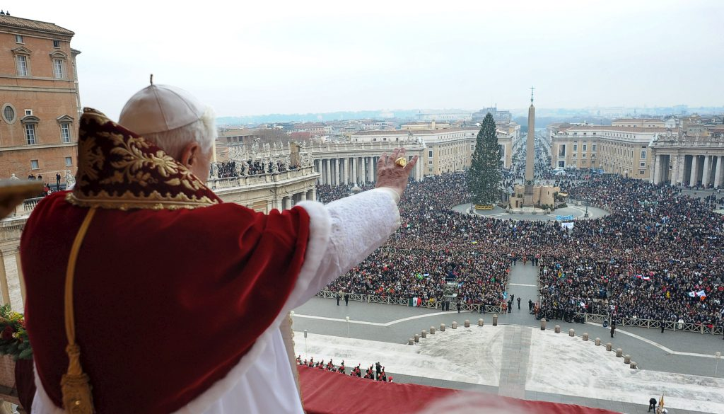 "Italy - Religion -  Pope Benedict XVI - Christmas Day Message ""Urbi et Orbi"""