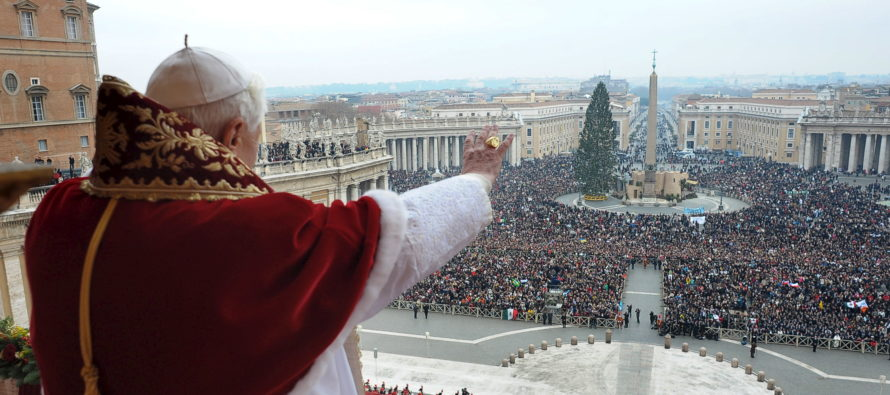 Pope Uses Christmas to Make Political Statement About 'Refugees'