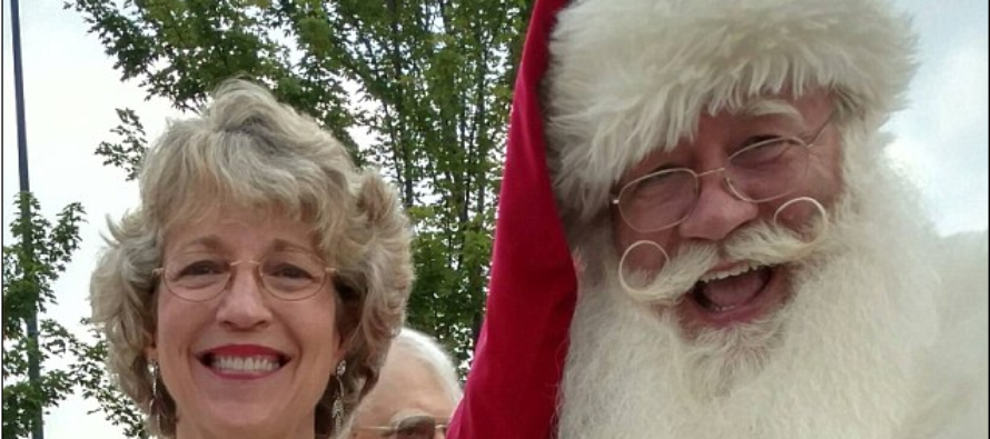 Terminally-ill boy, five, dies in Santa Claus' arms after fulfilling his last wish to see him