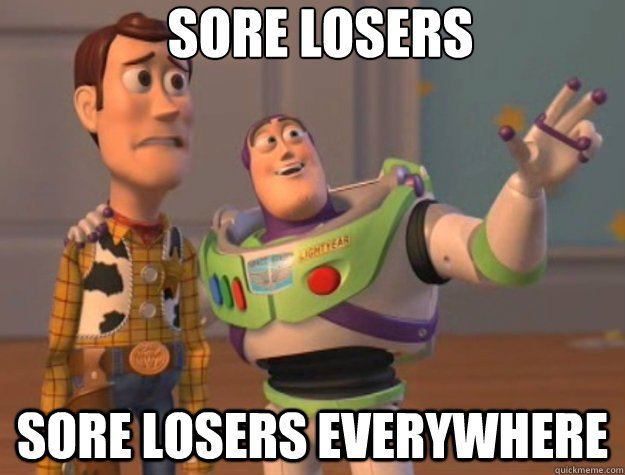 Teach sore-losers