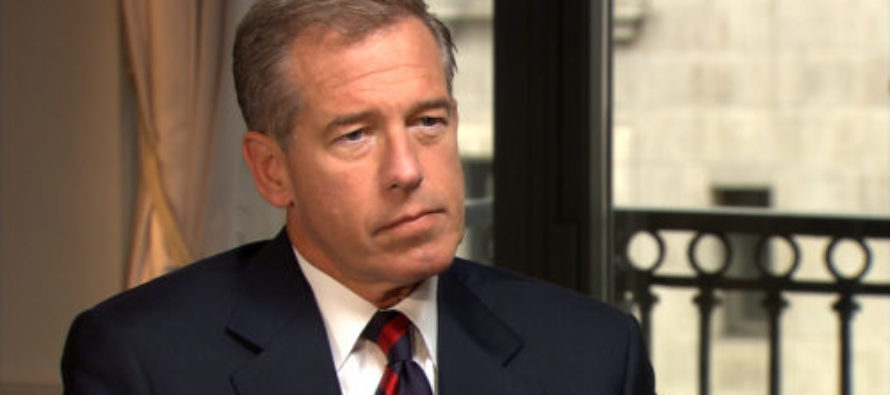 King of Fake News, Brian Williams, Implies Trump Didn't Know Troops Were in Qatar