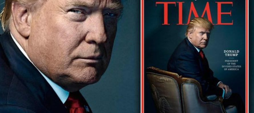BREAKING: Donald Trump Named as TIME's 'Person of the Year'