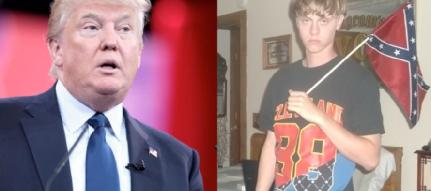 Slate uses DISGUSTING phrase to compare Trump with racist murderer Dylann Roof