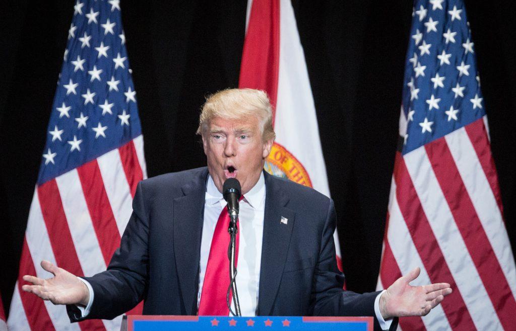 Donald Trump Campaign Rally In Tampa