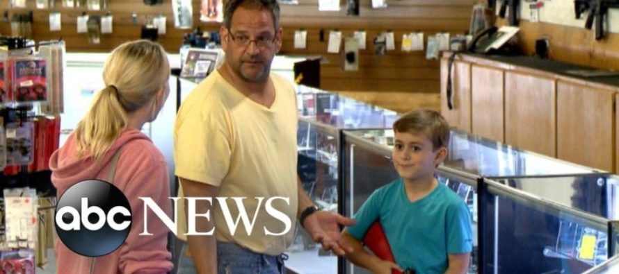 Hidden Camera Show: Woman confronts dad buying gun for son, patrons respond BEAUTIFULLY [VIDEO]