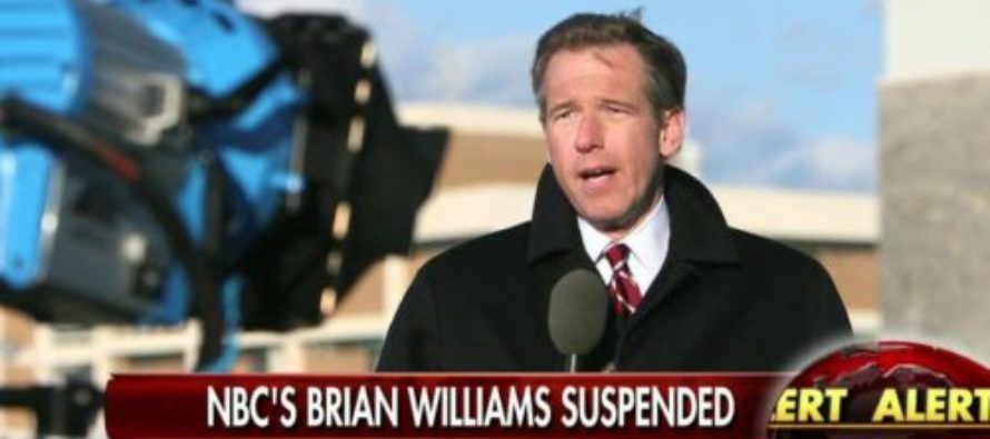 Brian Williams WHINES About Fake News – Even After His 'Made Up' Stories Which Got Him Fired From NBC… [VIDEO]