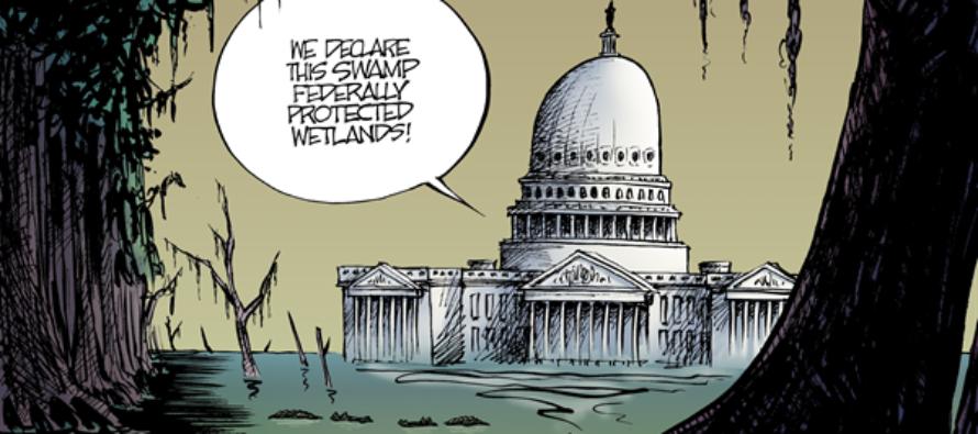 Congressional Swamp (Cartoon)