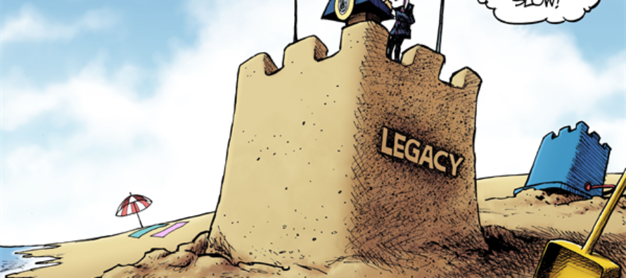 Obama Farewell (Cartoon)