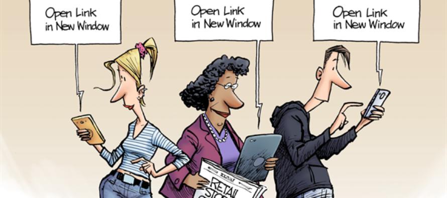 Retail Closings (Cartoon)