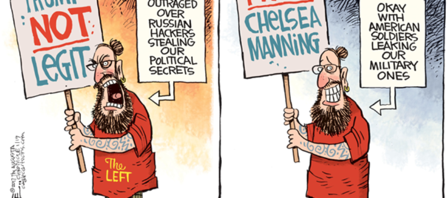 Chelsea Manning (Cartoon)