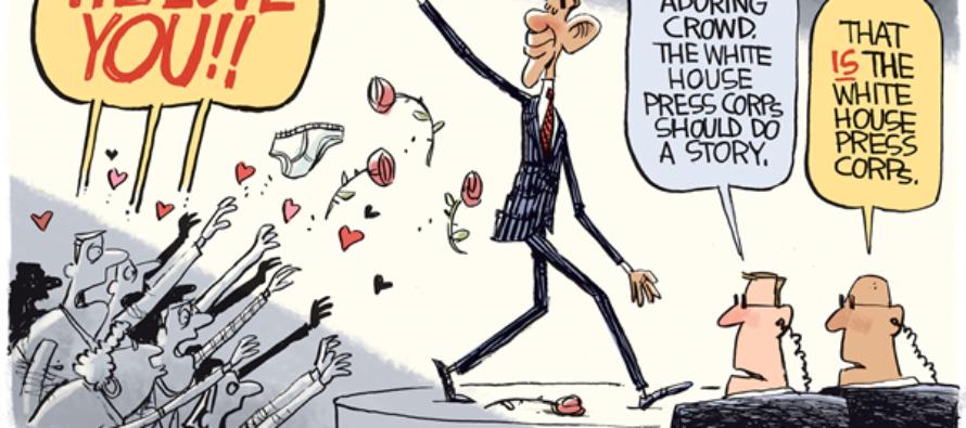 Obama Goodbye (Cartoon)