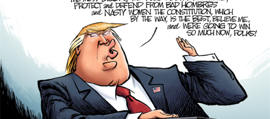 President Trump (Cartoon)