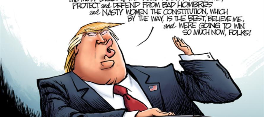 President Trump (Cartoon)