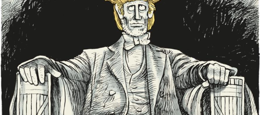 Trump Inauguration (Cartoon)