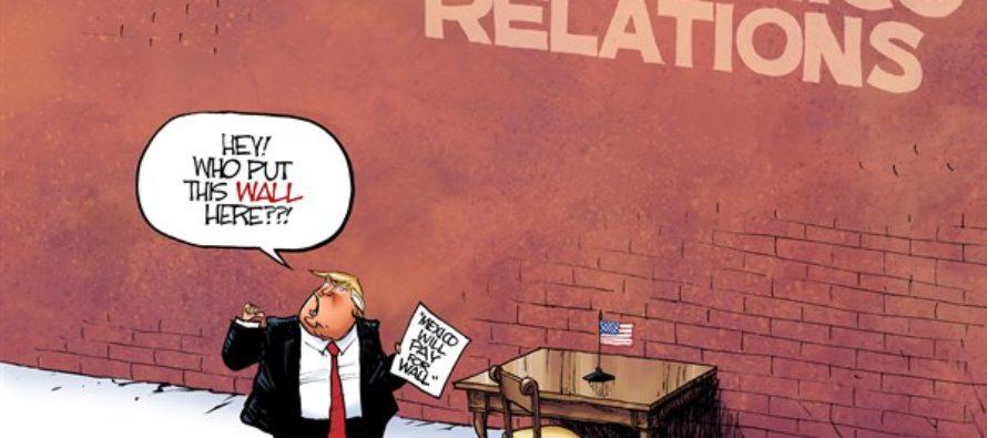 Mexico Wall (Cartoon)