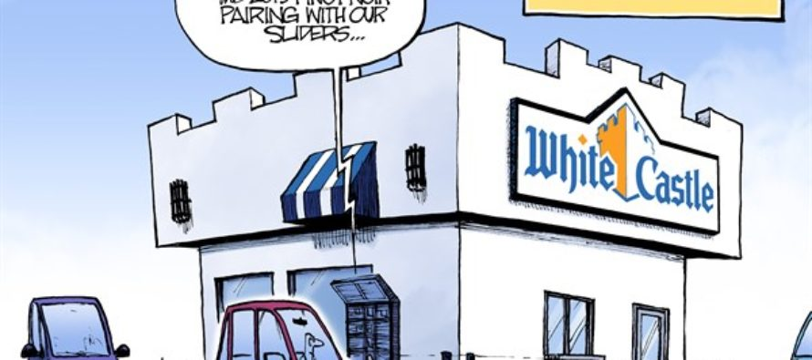 White Castle Booze (Cartoon)