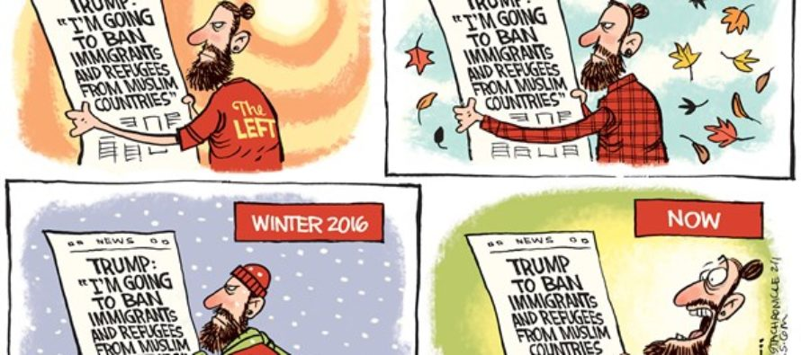 Trump Promises (Cartoon)