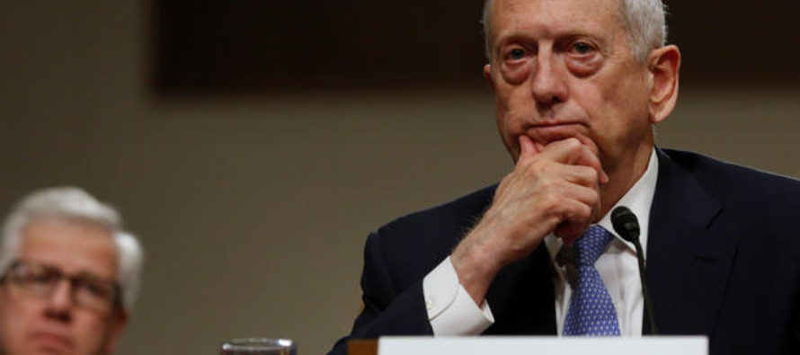 BREAKING: Senate Has Just Made Huge Decision On 'Mad Dog' Mattis