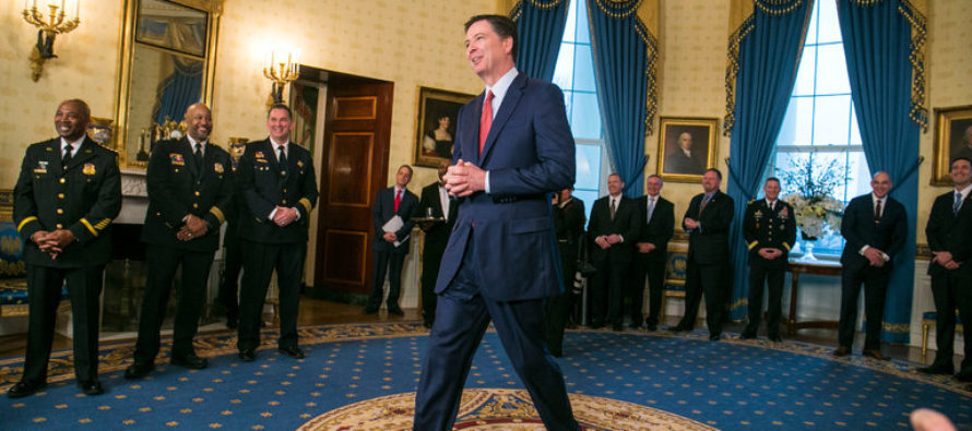 BREAKING: The Fate Of FBI Director James Comey Is Decided, Trump's Team Breaks The News