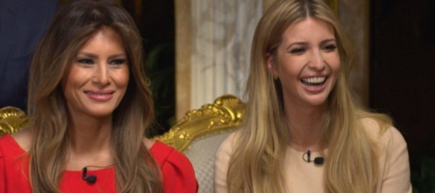 Ivanka and Melania are WILDLY popular! But who has the highest rating?