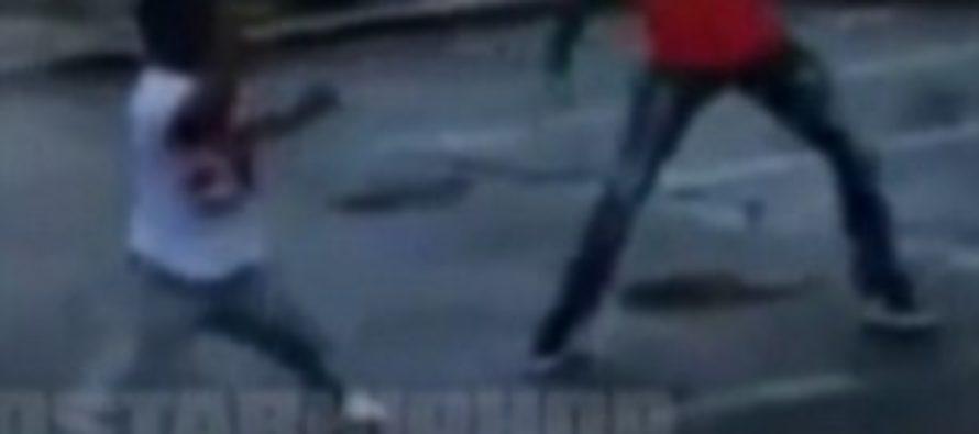 Fight Video: Little man, big heart: Dwarf takes down man twice his size in street fight