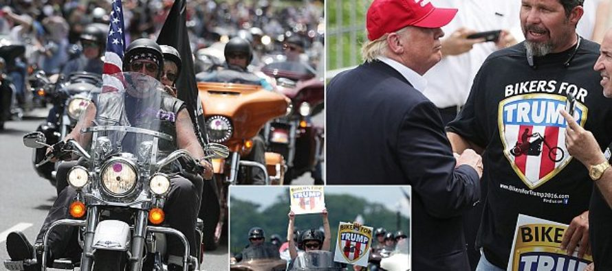 'BIKERS FOR TRUMP' Just Put Liberals On NOTICE – 'Behave During Inauguration, Or Else' [VIDEO]