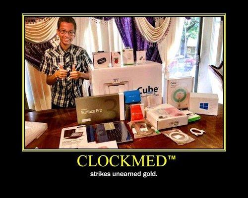 Ahmed Clock Boy