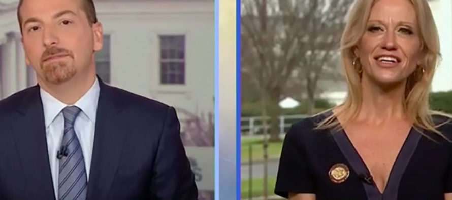 """BEAT THE PRESS: Conway to NBC — """"We're going to have to rethink our relationship here."""" [VIDEO]"""