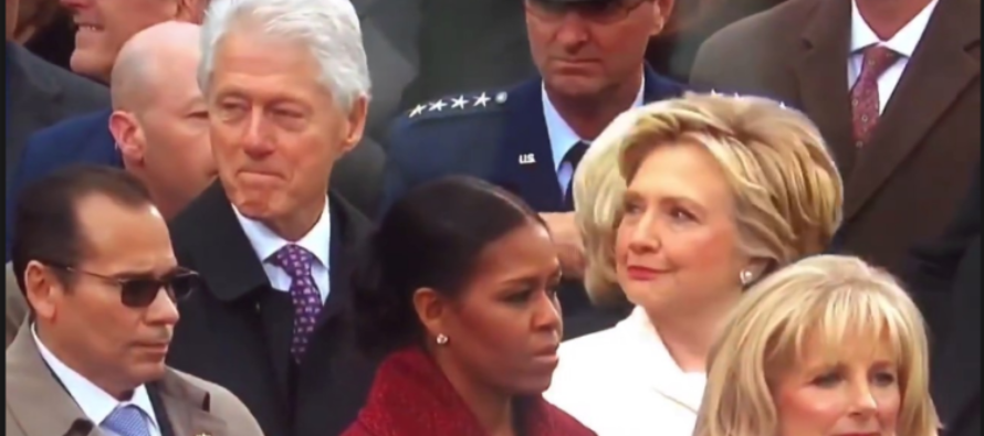 Watch Hillary catch Bill STARING at Ivanka! [VIDEO]