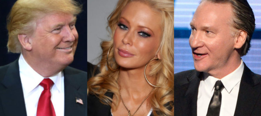XXX Star Turned Conservative Just Dropped Major TRUTH Bomb On Trump Hating MAHER!