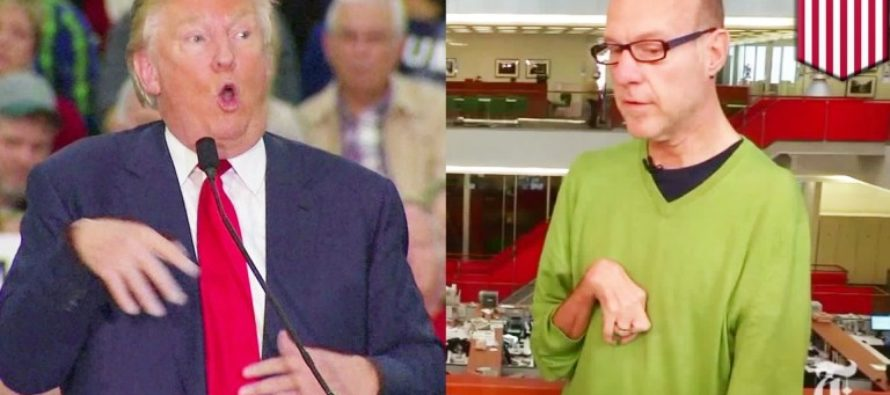 In Your Face Liberal LIARS – Here's PROOF Trump Did Not Mock A Special Needs Reporter
